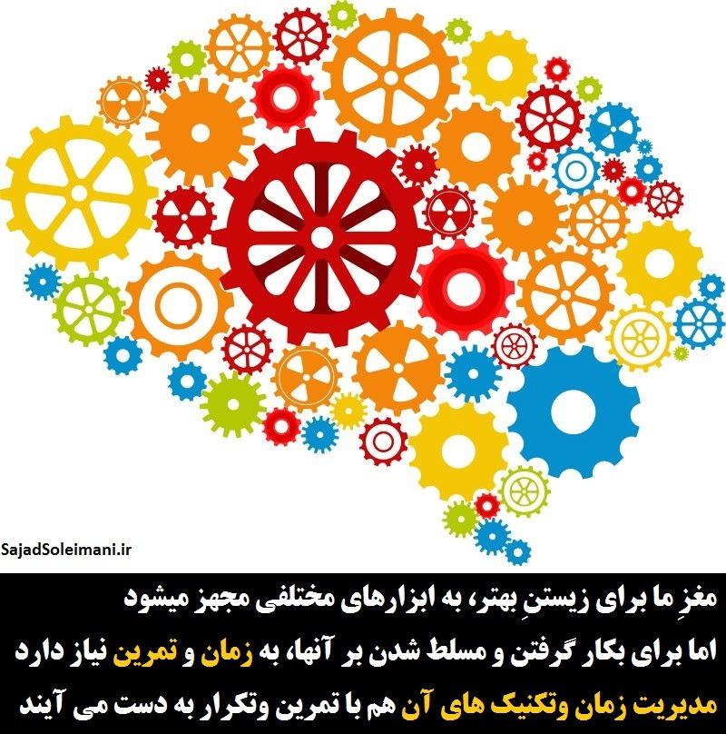 مدیریت زمان یک مهارت است و هر مهارتی با تمرین و تکرار بدست میآید مثل مهارت مهم مدیریت زمان.