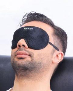 چشم بند برای خوابیدن در ترافیک عالیست. مدیریت زمان در ترافیک