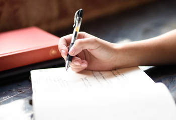قبل از جلسه از خودتان بنویسید
