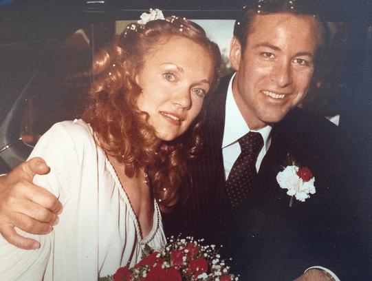 عکس قدیمی برایان تریسی و همسرش باربارا تریسی