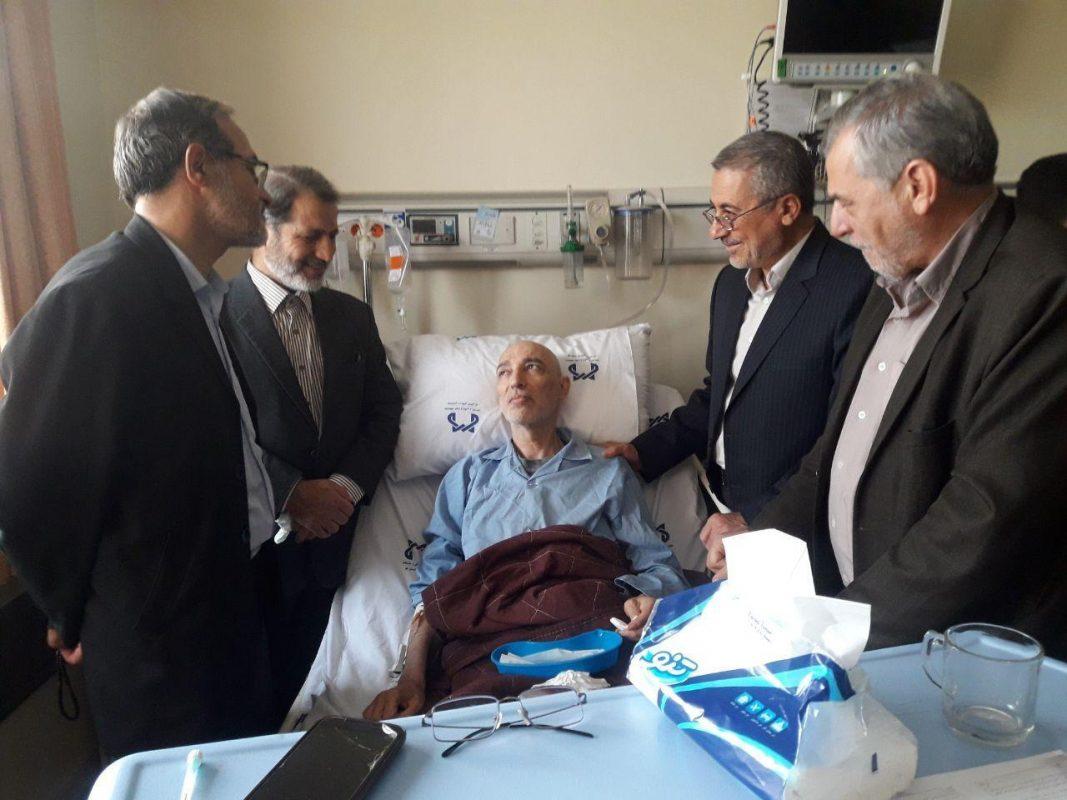 رضا بابایی مبارزه با سرطان